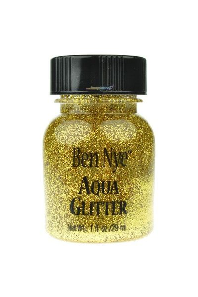 Ben Nye Aqua Glitter Gold