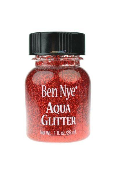 Ben Nye Aqua Glitter Red