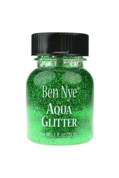 Ben Nye Aqua Glitter Neon Green