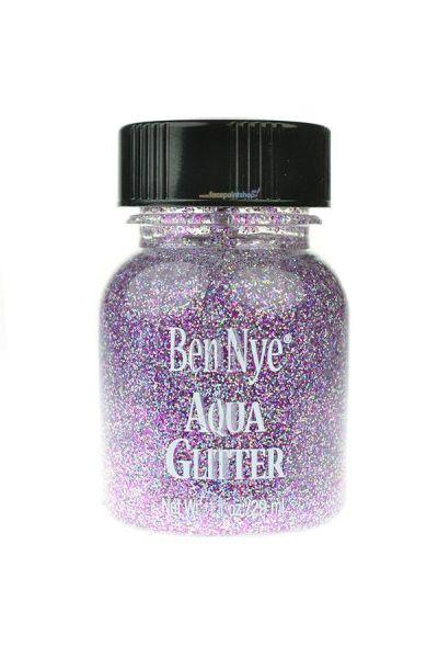 Ben Nye Aqua Glitter Galactic Violet