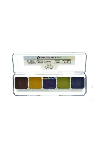Ben Nye Bruise Alcohol-Base Palette