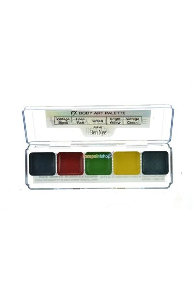 Ben Nye Body Art Alcohol-Based Palette