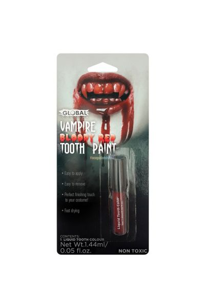 Global Tooth Paint Vampire Bloody Red