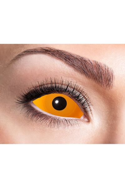Sclera Party Fun Lenses Orange Eye 22mm