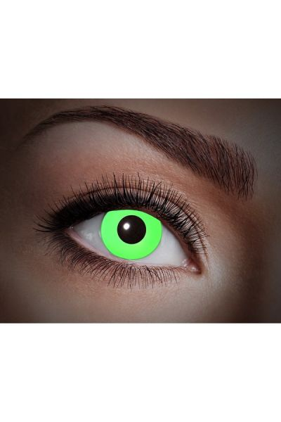 Glowing Uv Flash Green Fun Lenses