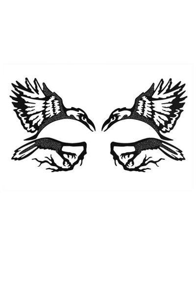 Face Lace Dazzele Raven