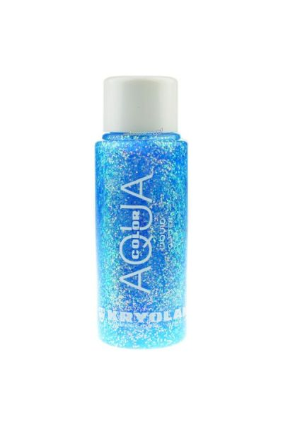 Kryolan Liquid Aquacolor Glitter Pastel Blue