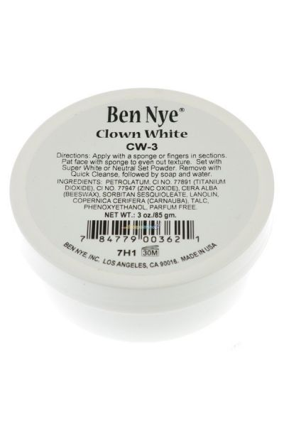 Ben Nye Clown White CW-3