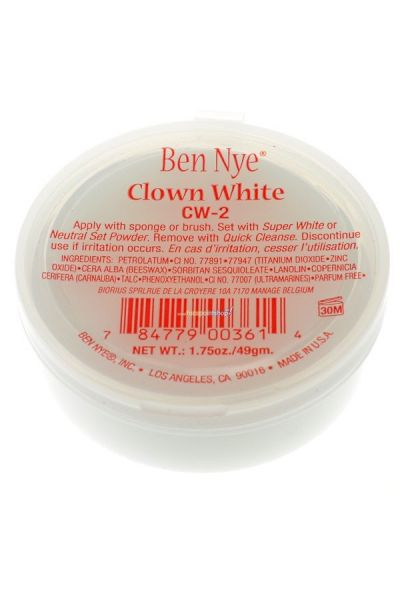 Ben Nye Clown White CW-2 49gr