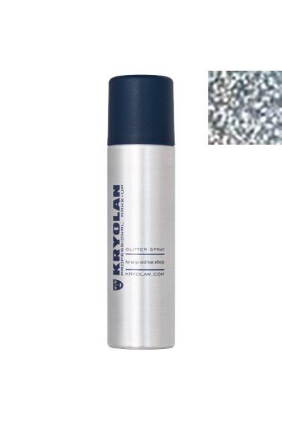 Kryolan Glitter Spray Silver