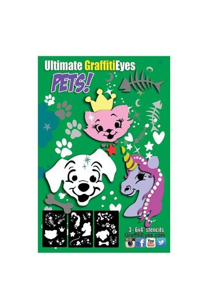 Lea Selley Ultimate Graffiti Eyes Pets