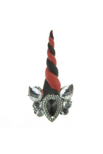 Unicorn Bling Bling - Black Red