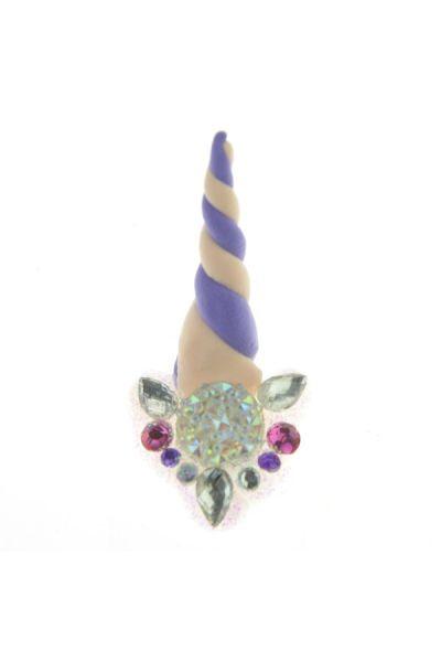 Unicorn Bling Bling - Beige Purple