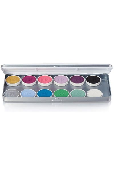 Ben Nye Magicake 12 Colors Palette Fantasy Palette