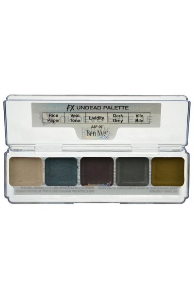 Ben Nye Undead Alcohol-Base Palette