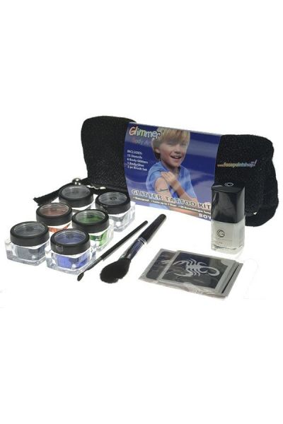 Glimmer Glitter Tattoo Kit Boys