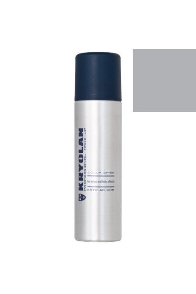 Kryolan Haar Color Spray D19 Light Grey