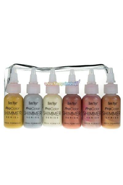 Ben Nye Procolor Airbrush Shimmer Pack
