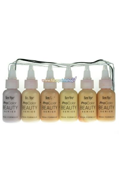 Ben Nye Procolor Airbrush Beauty Pack