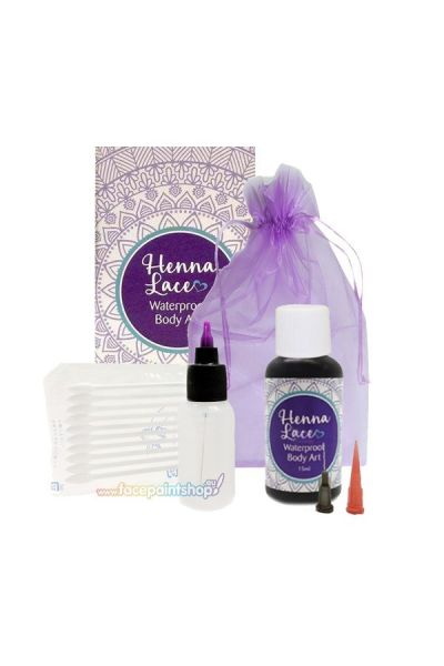 Henna Lace Waterproof Body Art Kit