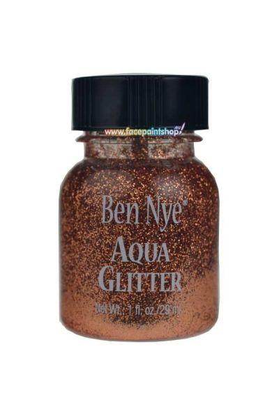 Ben Nye Aqua Glitter Copper