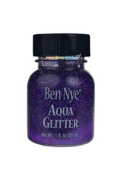 Ben Nye Aqua Glitter Purple