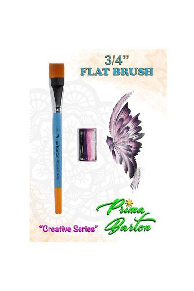 Prima Barton Flat Brush 3/4 Inch
