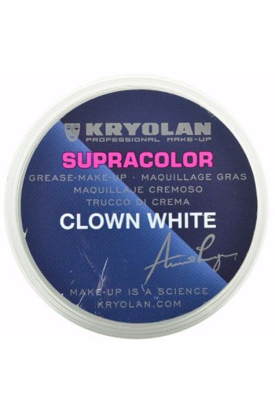 Kryolan Supracolor Clown White 30gr