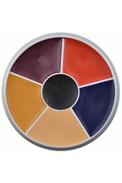Kryolan Rainbow Circle Supracolor Burned Skin