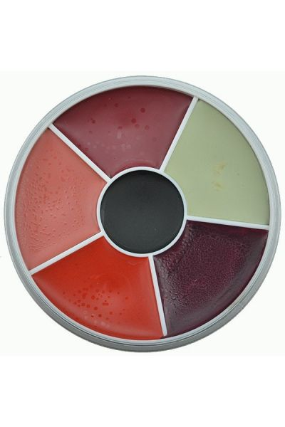 Kryolan Rainbow Circle Supracolor Burn & Injury