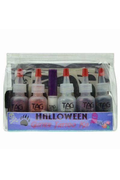 Tag Halloween Glitter Tattoo Kit
