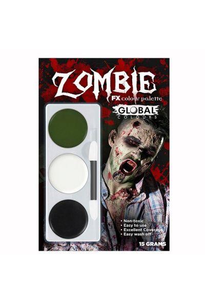 Global Zombie Fx kleuren palette
