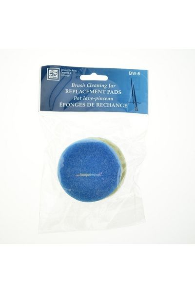 Brush Cleaning Jar Replacement Pads