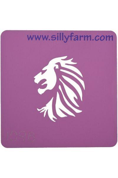 Facepaint Stencil Sillyfarm Lion