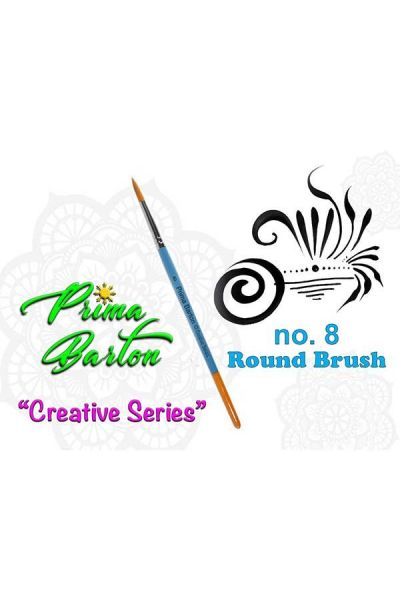 Prima Barton Rond Brush 8