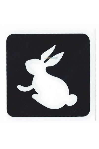Glittertattoo Sjabloon Bunny Rabbit (5 pack)