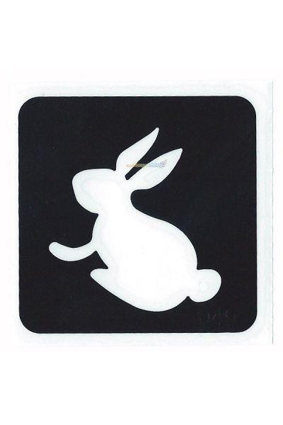 Glittertattoo Stencil Bunny Rabbit (5 pack)