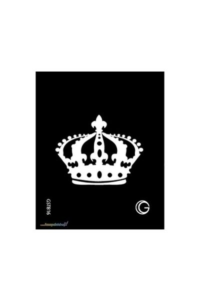 Crown Hd Stencil