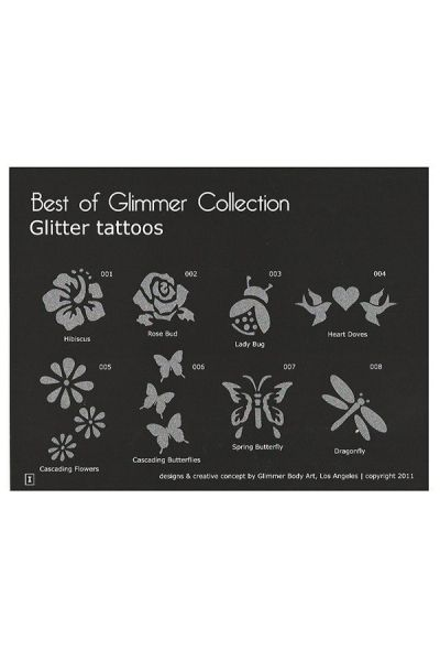 Glimmer Best of Glimmer Stencil Set