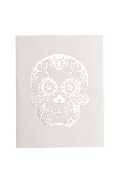 Sugar Skull Glimmer Metallic Jewelry Tattoos