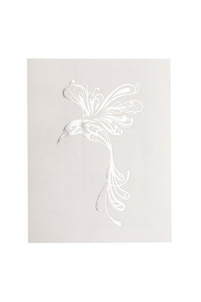 Hummingbird Glimmer Metallic Jewelry Tattoos