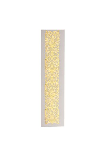 Lace Band Glimmer Metallic Jewelry Tattoos Long