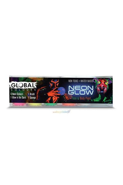 Bodyart Neon Glow Set
