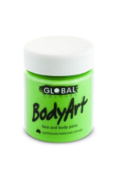 Global Bodyart Fluoro Green