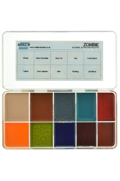 Zombie Key Colours Palette
