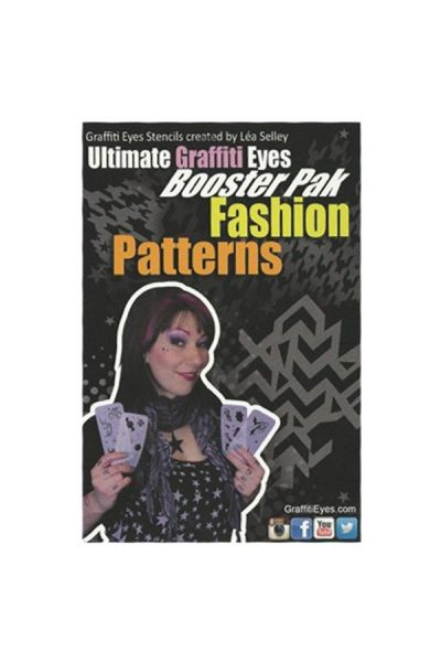 Lea Selley Ultimate Graffiti Eyes Booster Pak Fashion Patterns