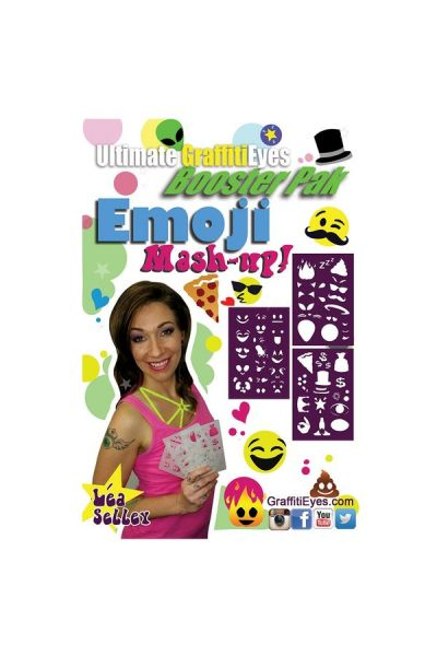 Lea Selley Ultimate Graffiti Eyes Booster Pak Emoji