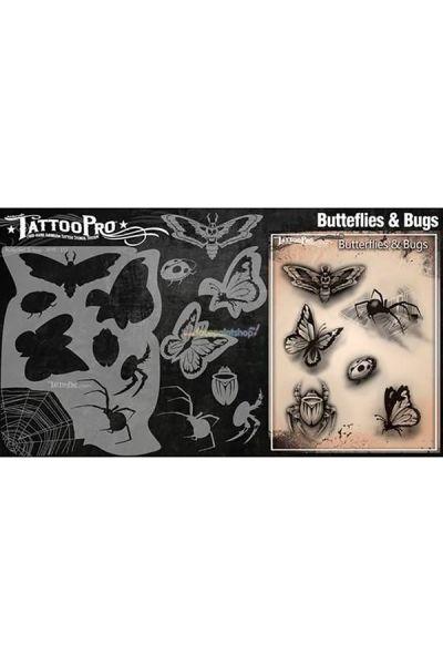 Wiser Airbrush Tattoo Butterflies & Bugs