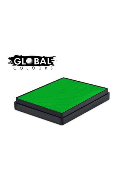 Global Aqua Schmink Neon Green Square Container
