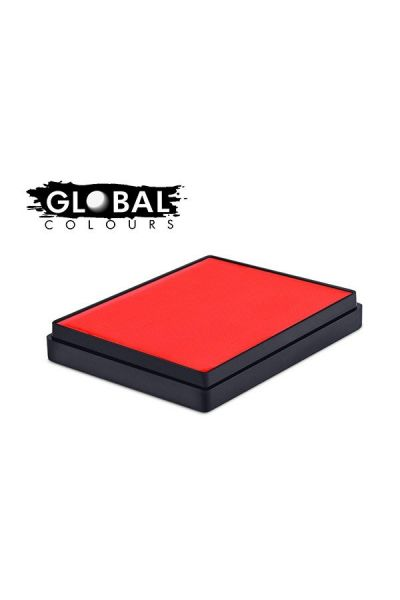 Global Aqua Schmink Neon Orange Square Container
